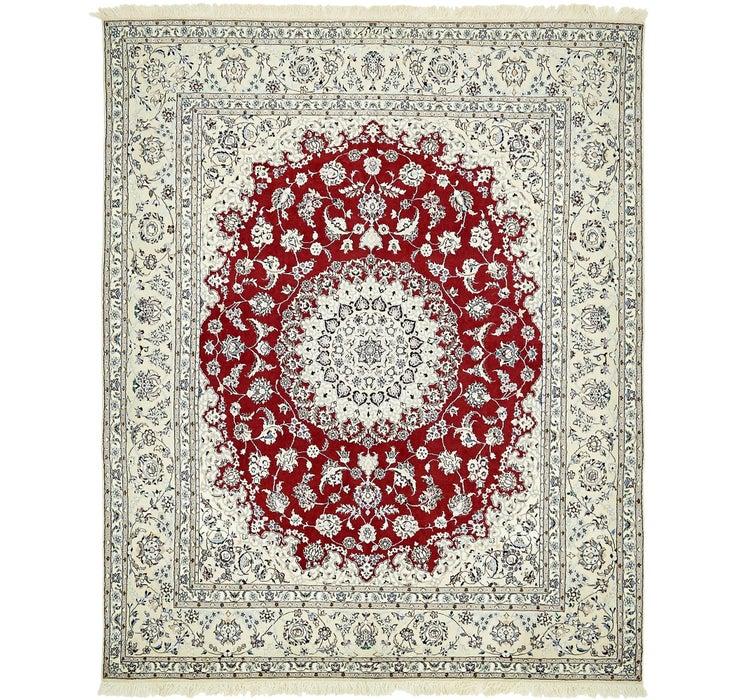 175cm x 213cm Nain Persian Rug
