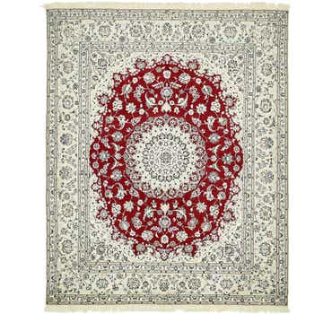 Image of 5' 9 x 7' Nain Persian Rug