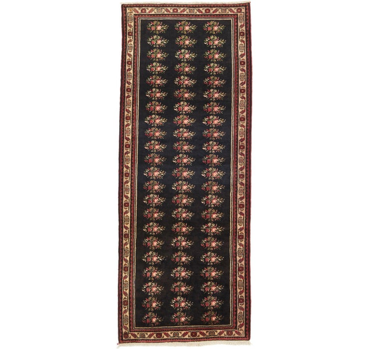 122cm x 318cm Hamedan Persian Runner ...