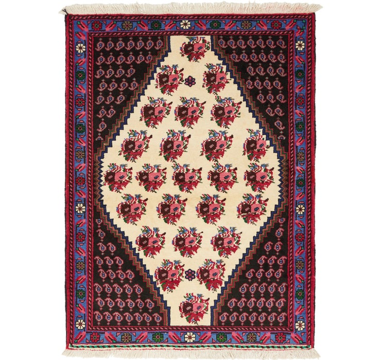 Image of 3' 8 x 4' 10 Shahrbaft Persian Rug