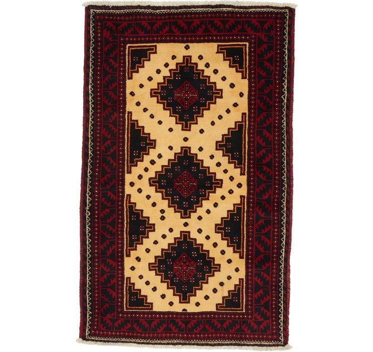 115cm x 183cm Balouch Persian Rug