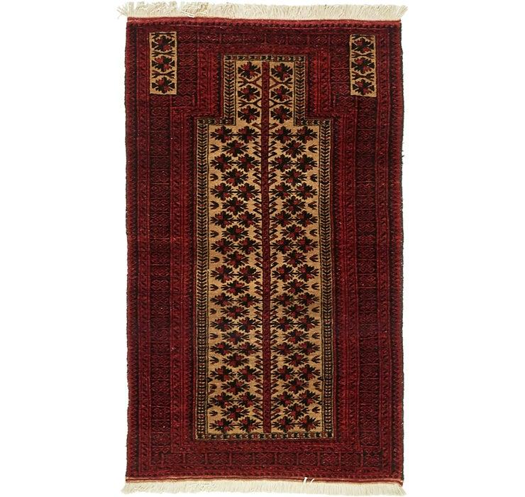 90cm x 150cm Balouch Persian Rug