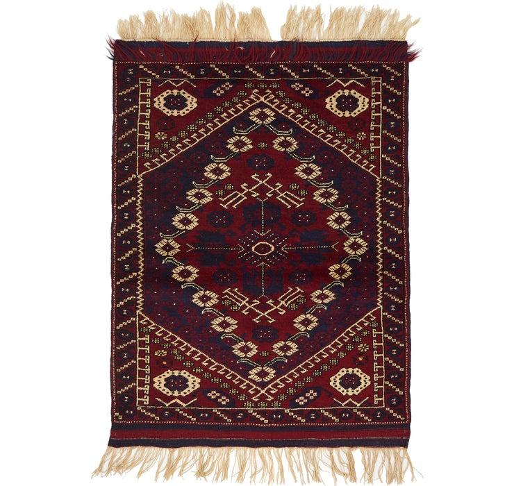 105cm x 140cm Balouch Persian Rug