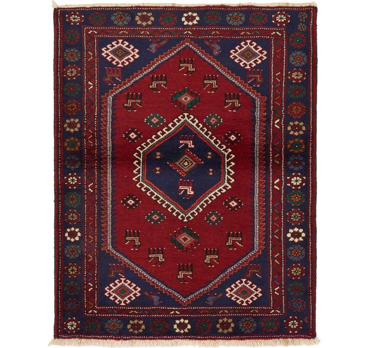 115cm x 147cm Hamedan Persian Rug