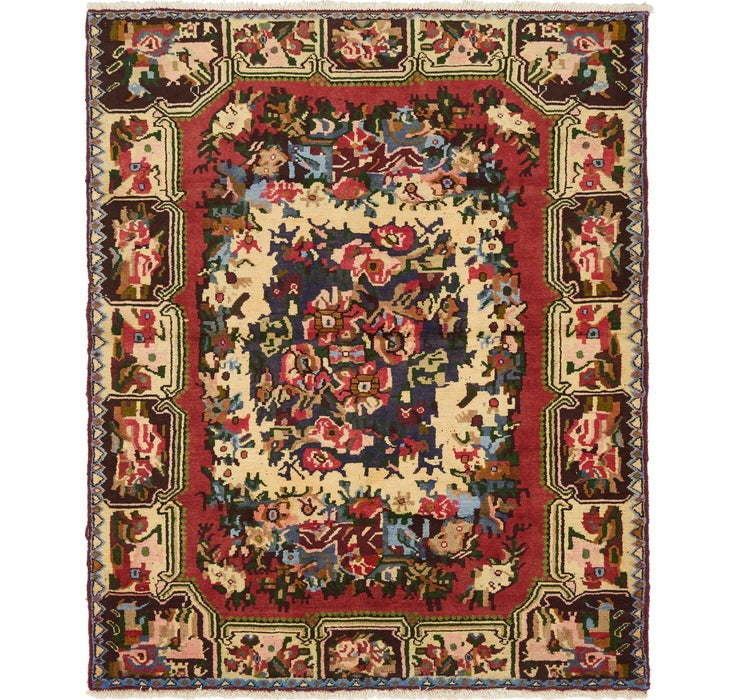 130cm x 157cm Bakhtiar Persian Rug