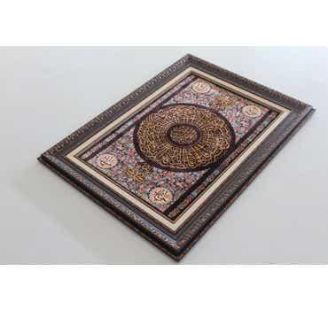 Image of 2' x 3' Qom Persian Rug