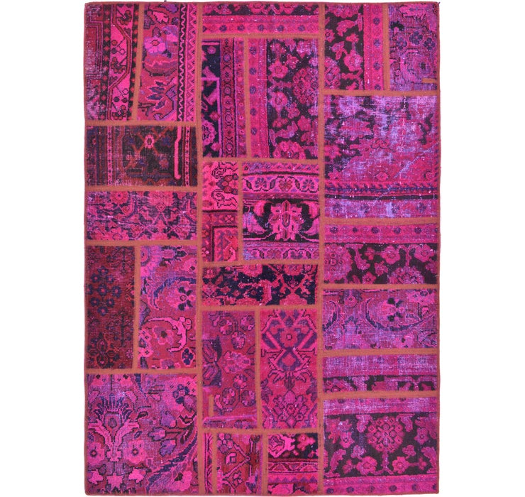 4' 6 x 6' 3 Ultra Vintage Persian Rug