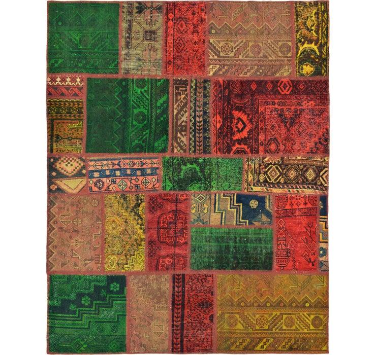 5' 5 x 6' 10 Ultra Vintage Persian Rug