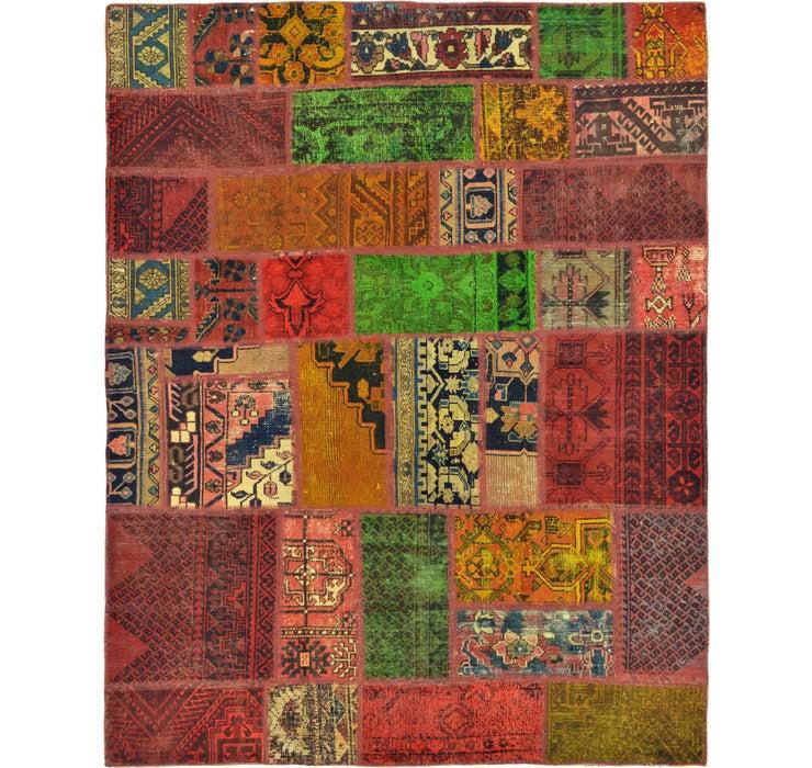 5' 4 x 6' 10 Ultra Vintage Persian Rug