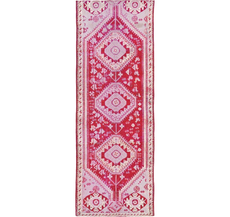 120cm x 348cm Shiraz Persian Runner Rug