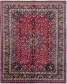 10' 2 x 12' 7 Mashad Persian Rug thumbnail
