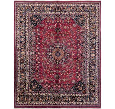 Image of 10' 2 x 12' 7 Mashad Persian Rug