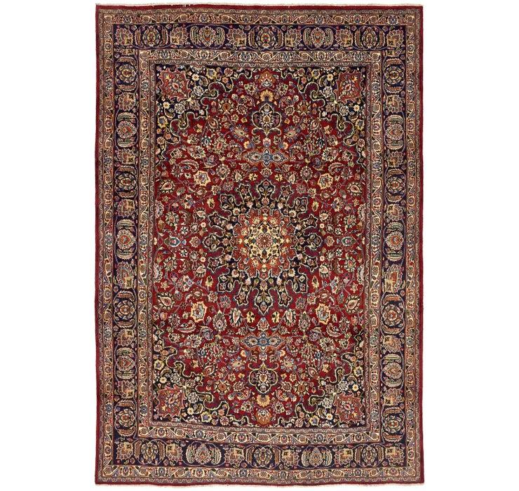 240cm x 348cm Mashad Persian Rug