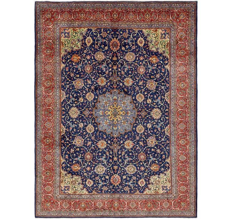 10' 5 x 13' 8 Sarough Persian Rug