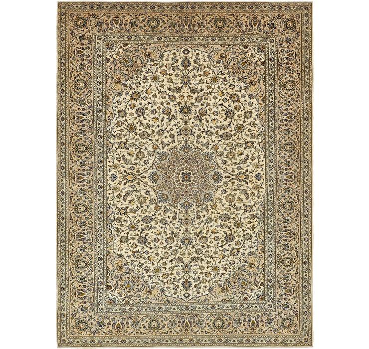 285cm x 390cm Kashan Persian Rug