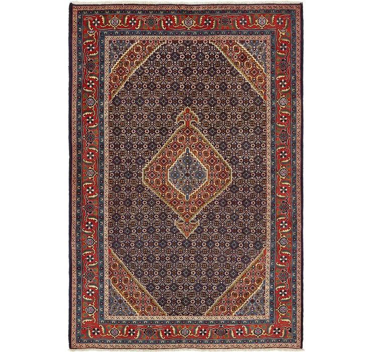6' 7 x 9' 9 Tabriz Persian Rug