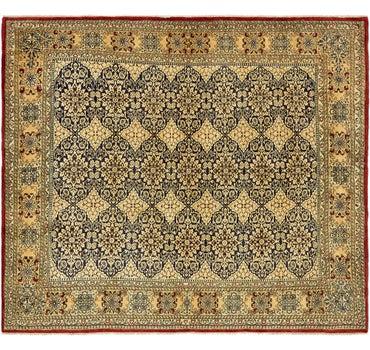8' 2 x 9' 5 Kerman Persian Square Rug main image