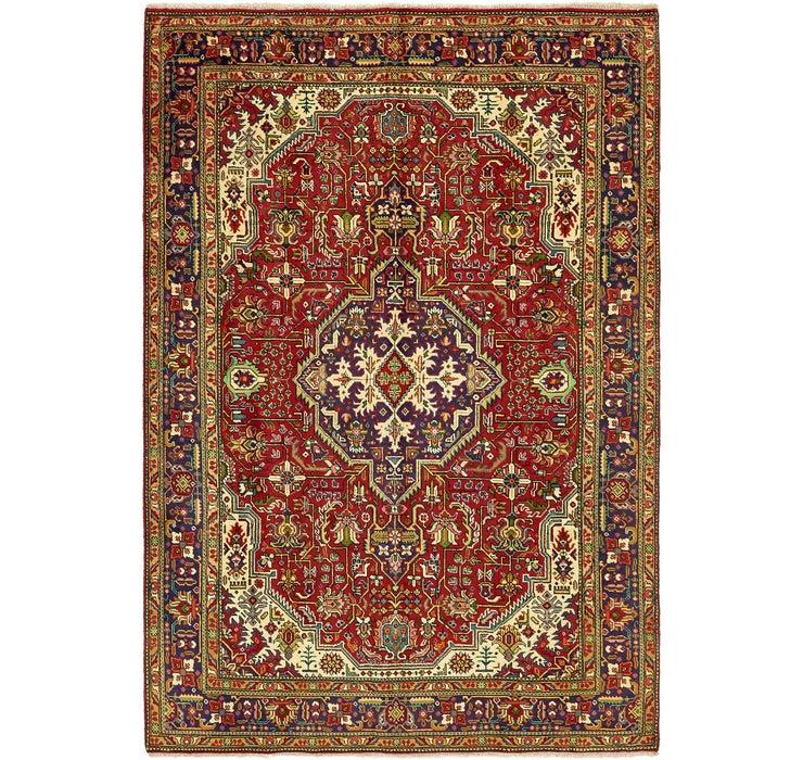 6' 7 x 9' 6 Tabriz Persian Rug