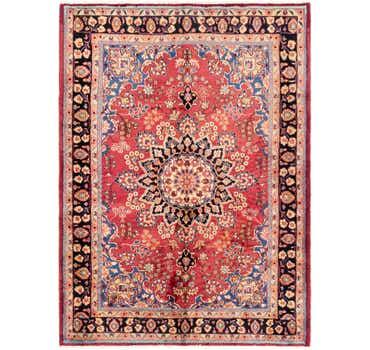 Image of 6' 8 x 9' 3 Birjand Persian Rug