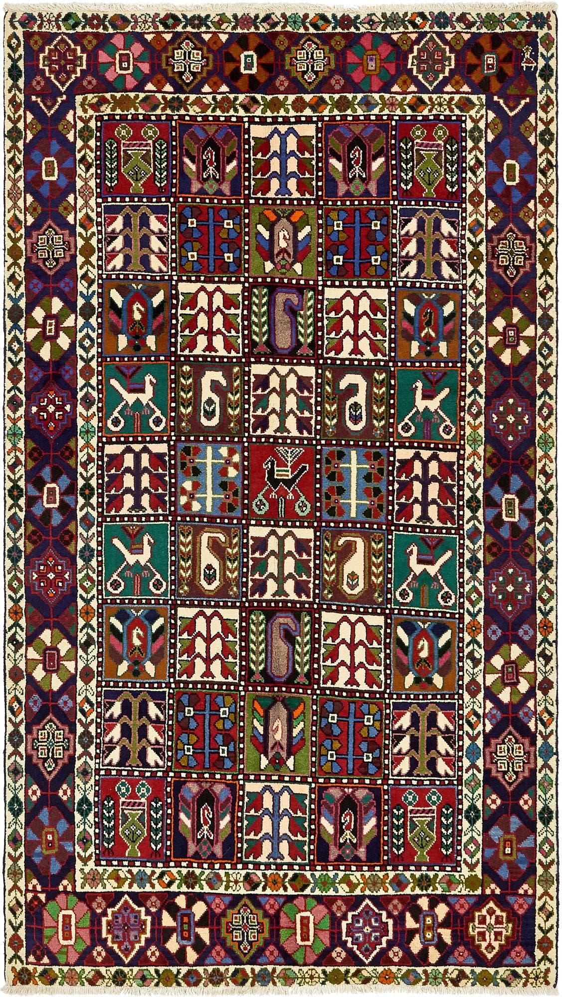 5' 4 x 9' 8 Bakhtiar Persian Rug main image