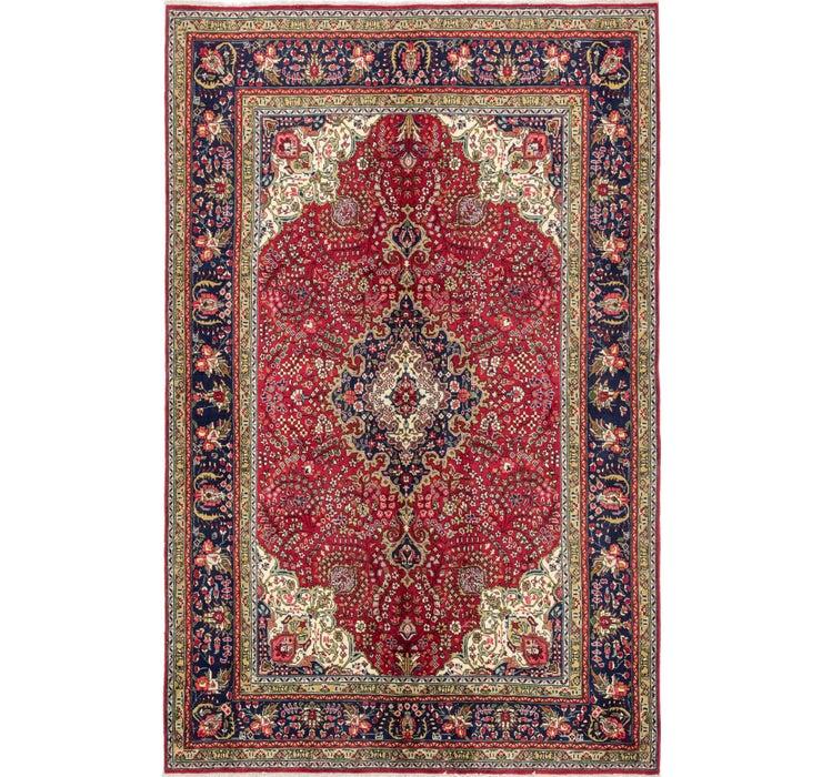 190cm x 297cm Tabriz Persian Rug