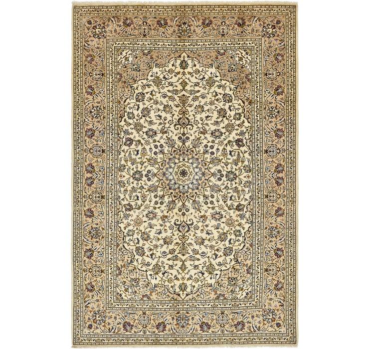 6' 5 x 9' 8 Kashan Persian Rug