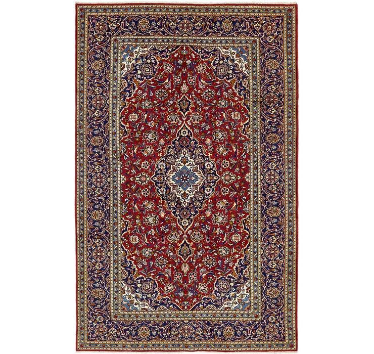 6' 5 x 10' 3 Kashan Persian Rug