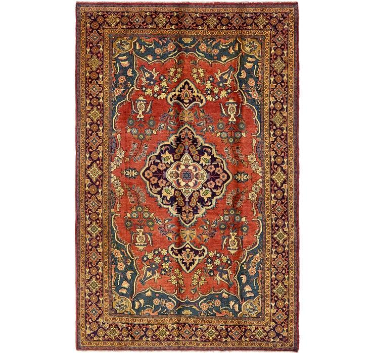 7' 3 x 11' 2 Sarough Persian Rug