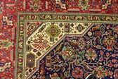 6' 6 x 9' 10 Tabriz Persian Rug thumbnail