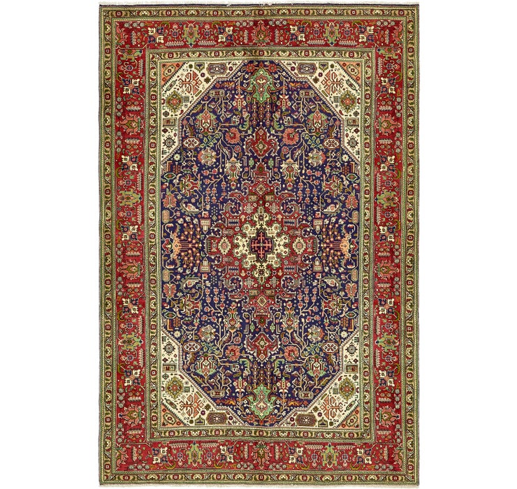 198cm x 300cm Tabriz Persian Rug