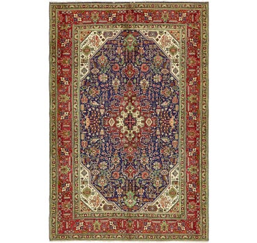 6' 6 x 9' 10 Tabriz Persian Rug main image