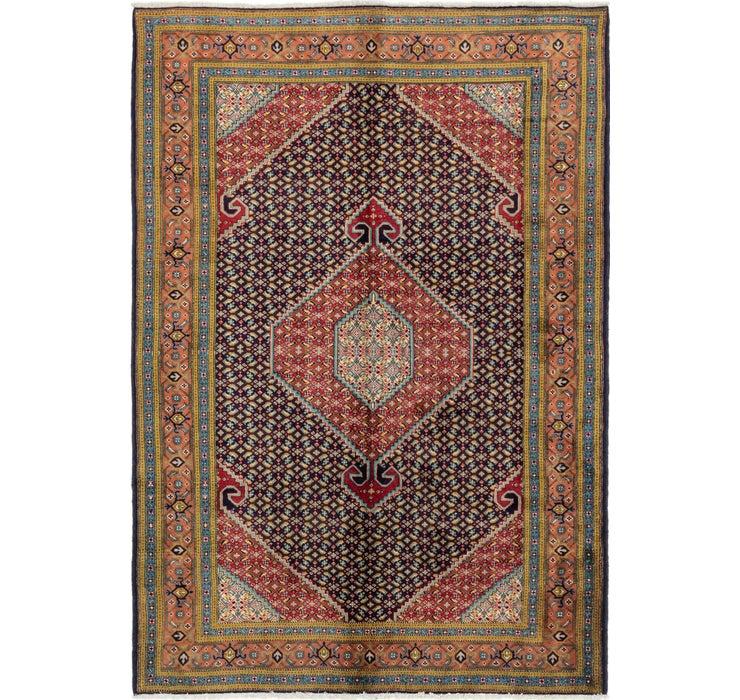 6' 7 x 9' 5 Tabriz Persian Rug