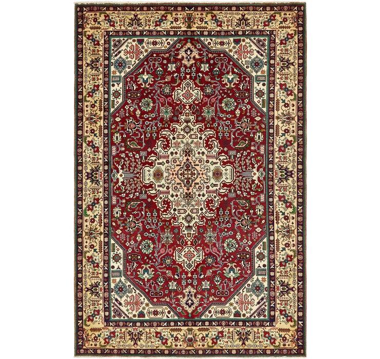 6' 9 x 10' 4 Tabriz Persian Rug