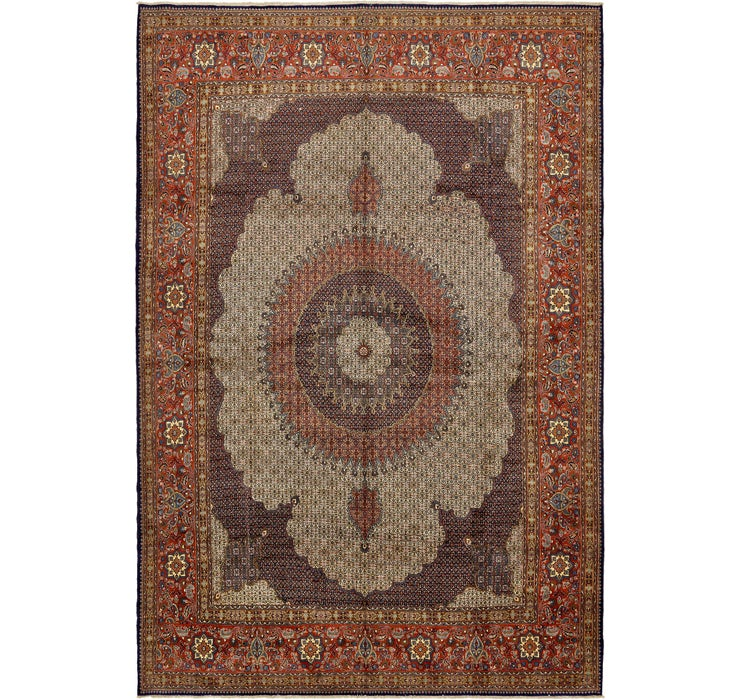 390cm x 585cm Mood Persian Rug