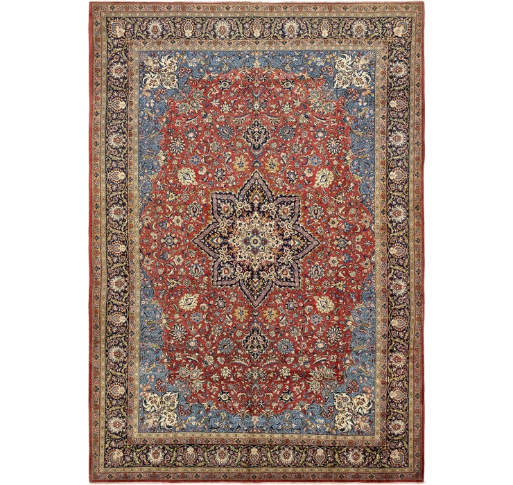 10' 8 x 15' 2 Sarough Persian Rug