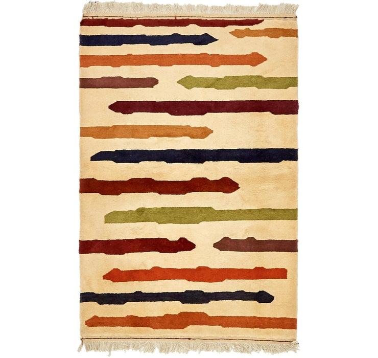 100cm x 147cm Shiraz-Gabbeh Persian Rug