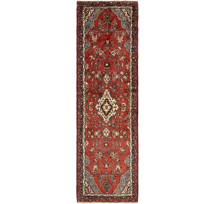 102cm x 335cm Mehraban Persian Runner...