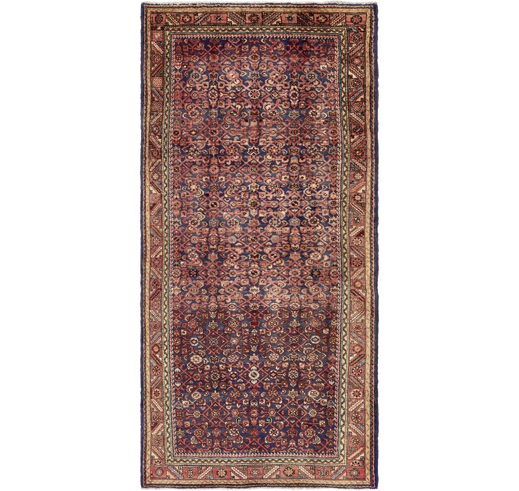 152cm x 338cm Hossainabad Persian Run...