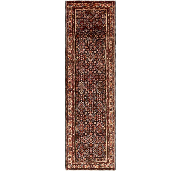 112cm x 415cm Hossainabad Persian Run...