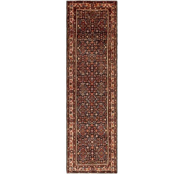 3' 8 x 13' 7 Hossainabad Persian Runner Rug main image