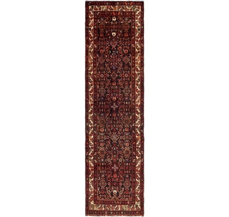 Image of 3' 6 x 12' 10 Hossainabad Persian Run...