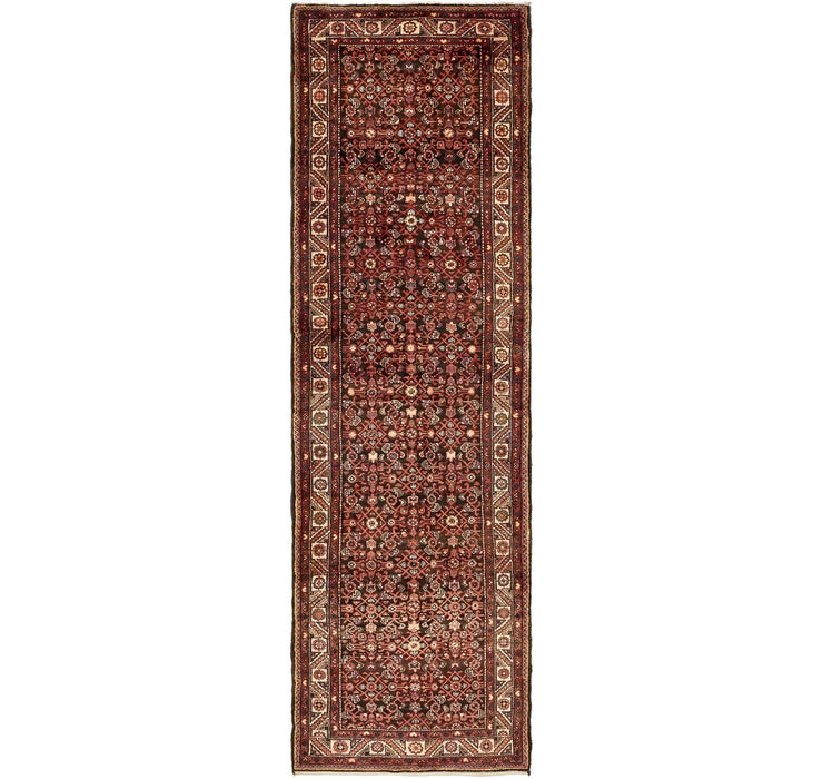 127cm x 427cm Hossainabad Persian Run...