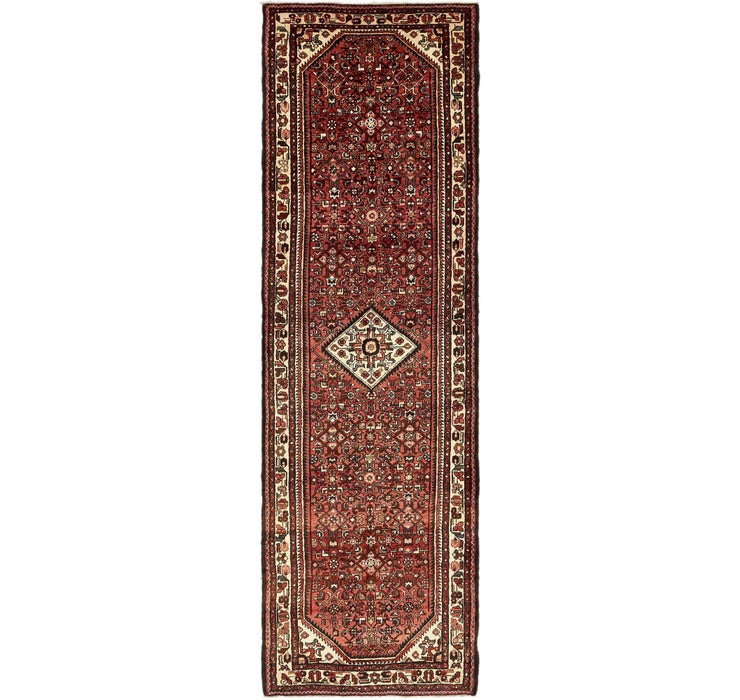 115cm x 390cm Hossainabad Persian Run...