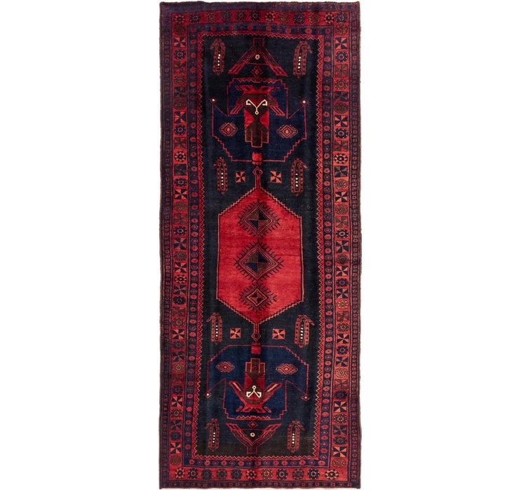 147cm x 360cm Sirjan Persian Runner Rug