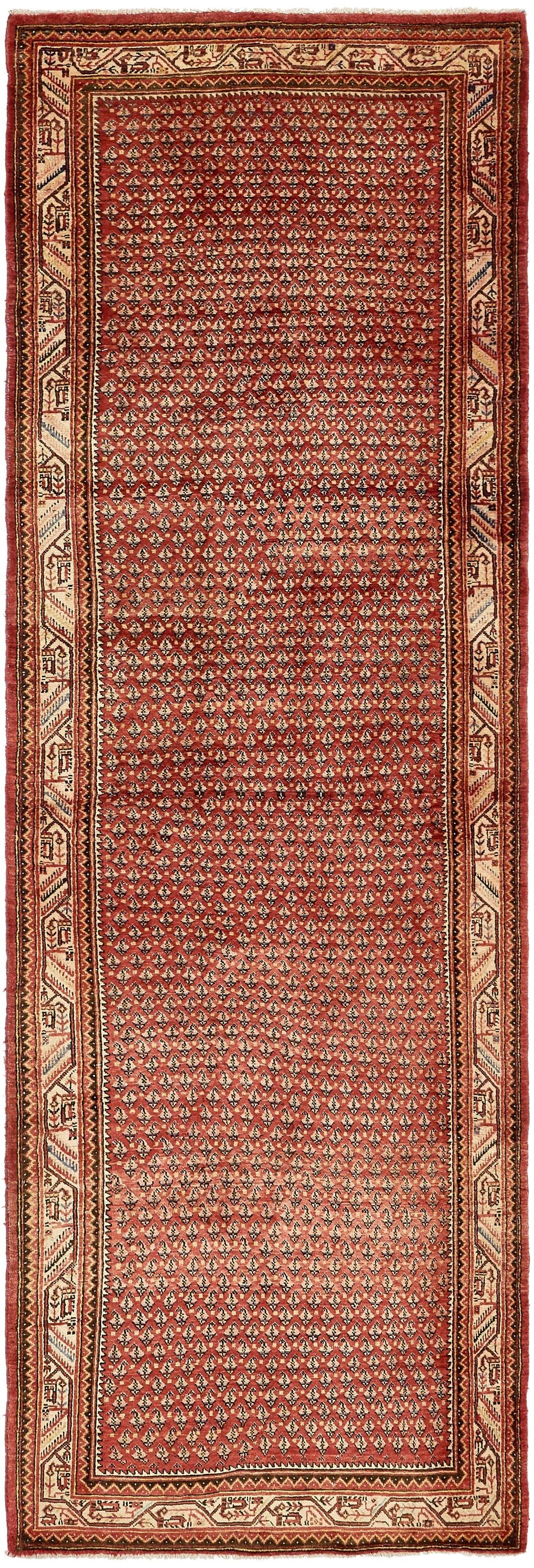 4' 5 x 13' 4 Botemir Persian Runner Rug main image