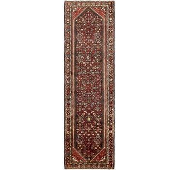 3' 10 x 13' Hossainabad Persian Runner Rug main image