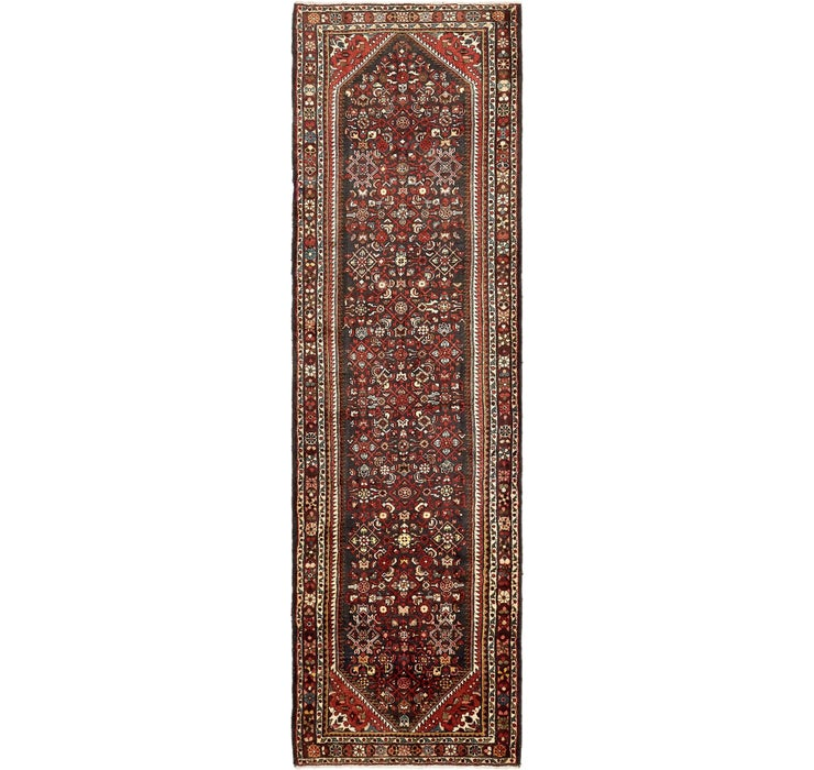 117cm x 395cm Hossainabad Persian Run...
