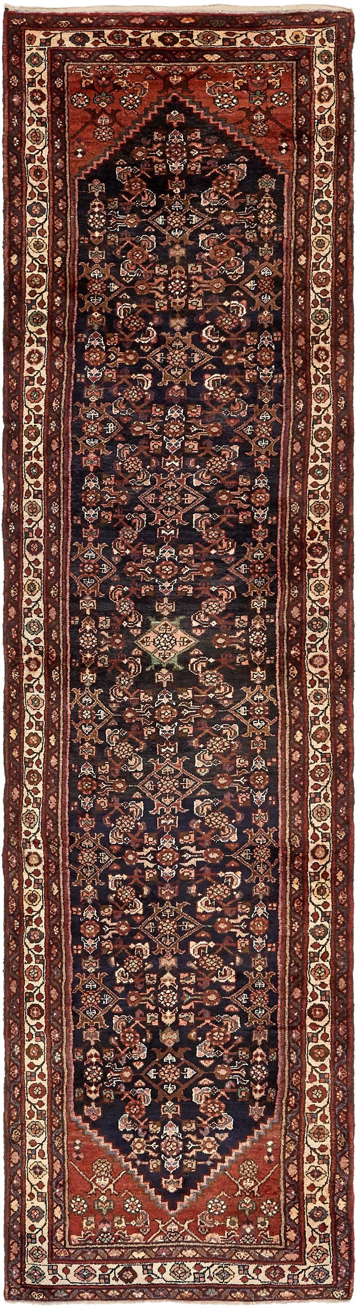 3' 4 x 12' 10 Hossainabad Persian Runner Rug main image