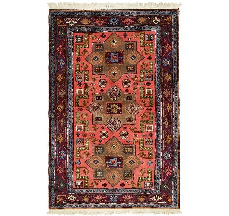 137cm x 213cm Karabakh Oriental Rug
