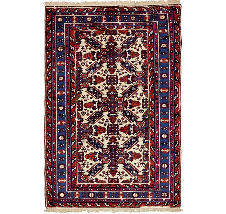 140cm x 218cm Karabakh Oriental Rug
